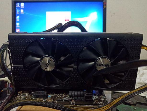 Sapphire Pci-Ex Radeon Rx 480 Nitro+ 8Gb Gddr5 (256Bit)