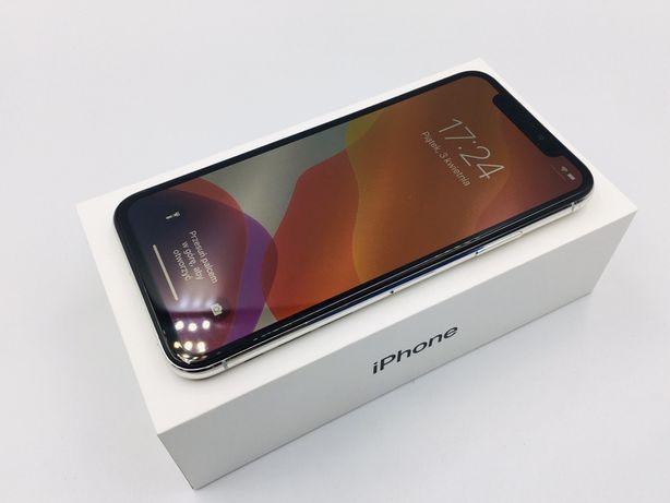 PROMOCJA • iPhone X 256GB Silver • GWARANCJA 1 MSC • AppleCentrum