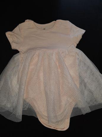 Vestido menina bebé 2/4m