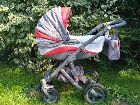 Wózek Adamex Berletta 3w1