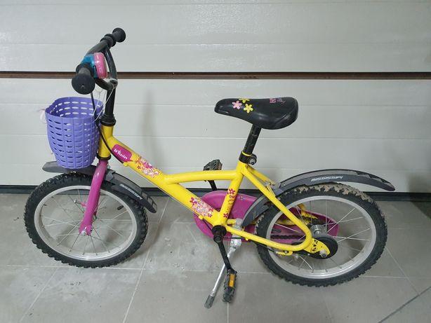 Rowerek rower dziecięcy koła 16 decathlon warszawa piaseczno