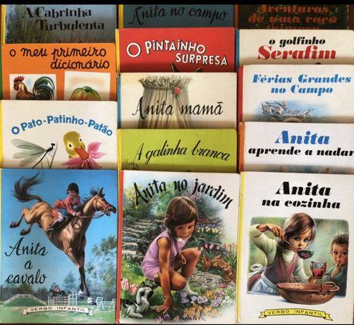 Livros coleçao Anita