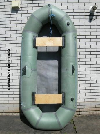 Лодка Резиновая 2-х надувная ВЫСОТА БОРТА 35СМ