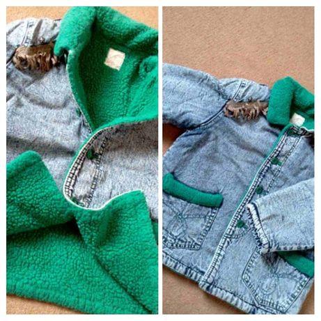 Куртка Курточка джинсовая демисезонная Одежда для девочек