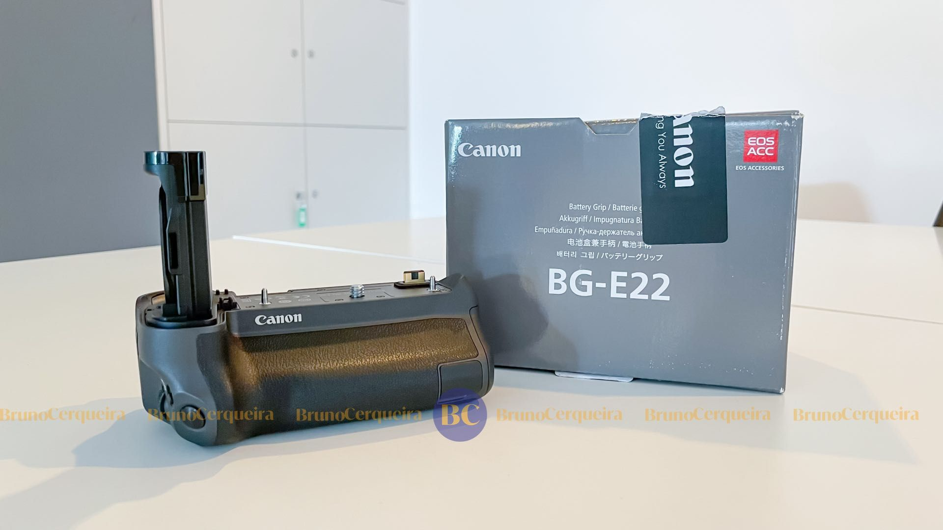 Punho Canon EOS R como NOVO - Grip Canon BG-E22 (para Canon EOS R)