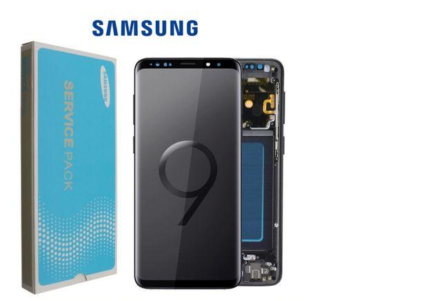 Дисплей Samsung Galaxy s9+ G965 с сенором в рамке s9 Plus G965 модуль
