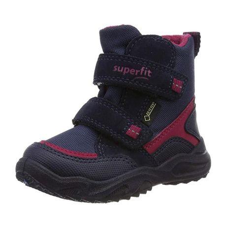 Зимние ботинки, сапожки, термо Superfit  25р.