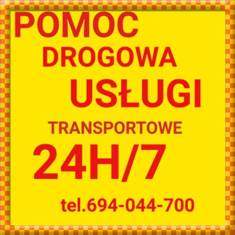 TRANSPORT DO 12 TON ,pomoc drogowa 24H