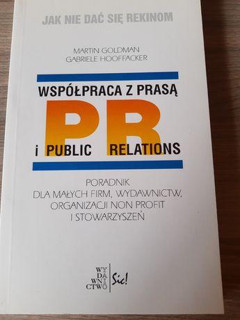 Książka Współpraca z prasą i public relations