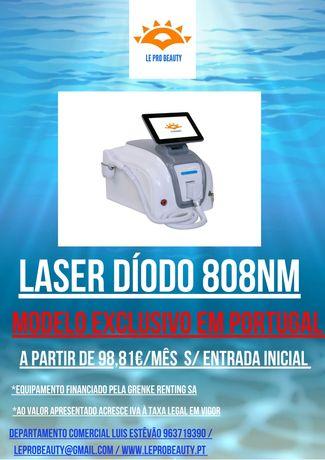 LASER DIODO 808nm EXCLUSIVO EM PORTUGAL,2 anos de garantia,curso DGERT