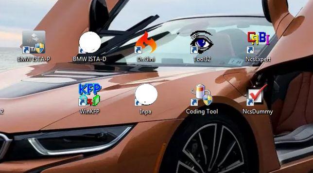 Zdalna instalacja oprogramowania BMW INPA NCS WinKFP ISTA