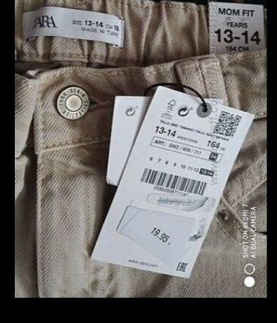Джинсы мом Zara 164 размер