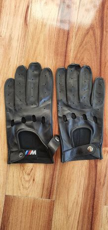 Rękawiczki rajdowe BMW M nowe bez metki