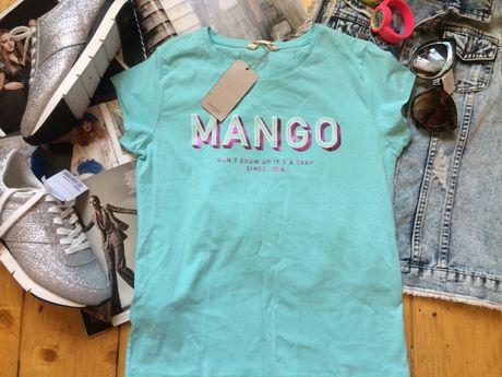 Футболка манго mango на 152-158 хс