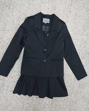 Школьная форма 1-2 класс, сарафан, пиджак, блуза.