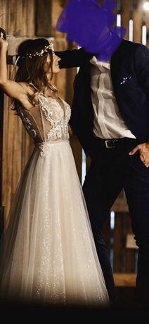 Suknia Ślubna rozmiar 34/36- Avenue22