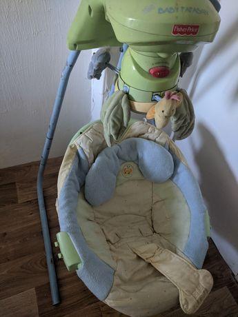 Качеля гойдалка укачуючий центр віддам для немовлят