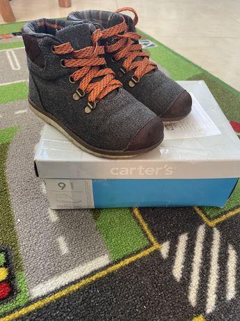 Детские стильные ботинки Carters весна/осень