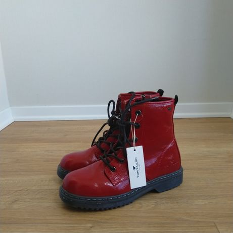 Как Dr. Martens 1460, мартинсы, ботинки Tom Tailor, eco-кожа