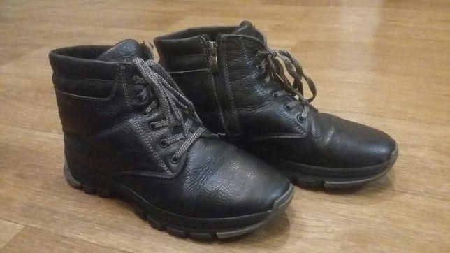 Ботинки зима р 38 кожа