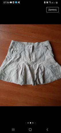 Spódnica spódniczka mini XS-S cappuccino