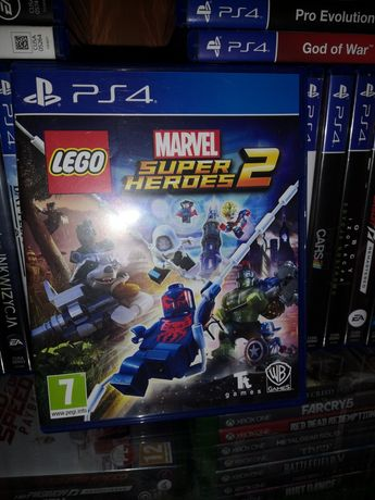 Ps4 Lego Super Marvel Heros 2 PL i inne