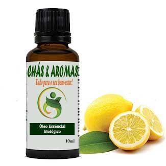 Óleo Essencial de Limão - Biológico