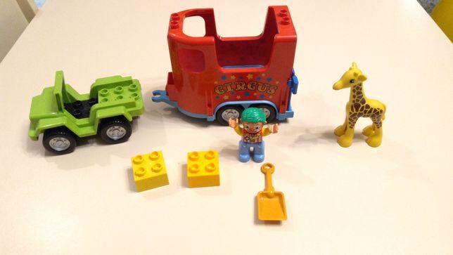 LEGO Duplo 10550 Circus Transport, pojazd cyrkowy, dzieci 2-5 lat