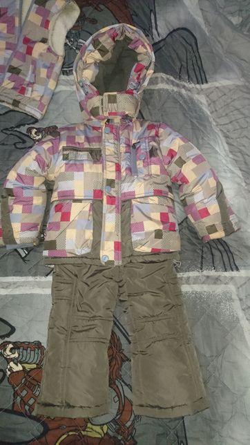 Зимняя куртка 86-92 см