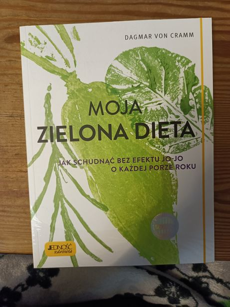 Moja zielona dieta Dagmar Von  Cramm