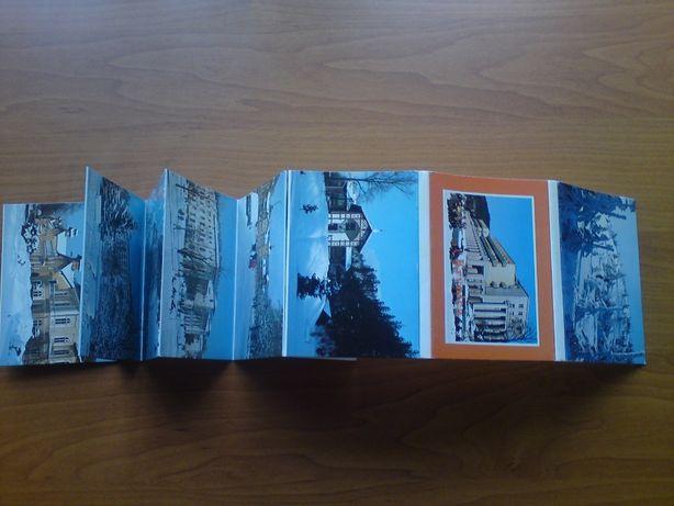 Zestaw mini pocztówek w harmonijce Krynica