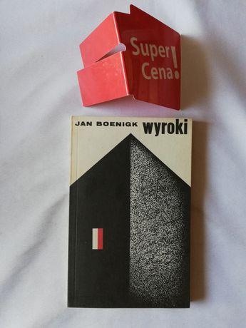 """książka """"wyroki"""" Jan Boenigk"""