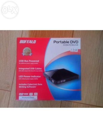 Leitor de cd/dvd portatil