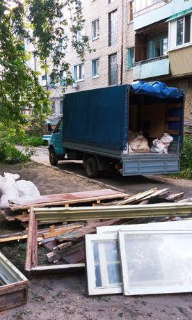 Вывезти старую мебель, хлам, рамы, окна, строительный мусор, демонтаж