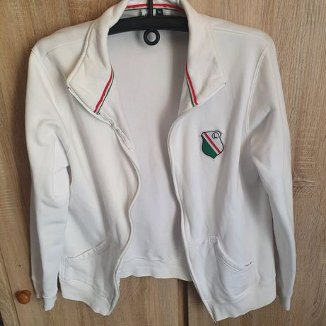 Biała bluza Legii Warszawa