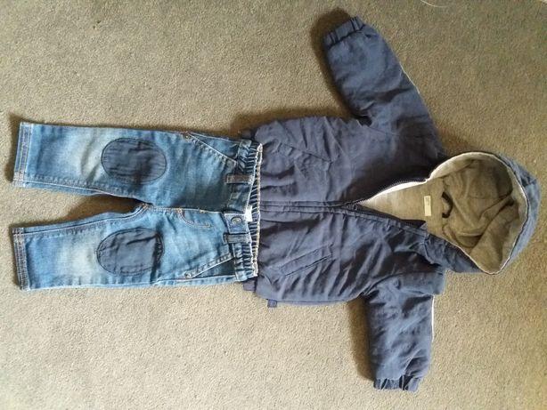 Casaco e calças de ganga Benetton