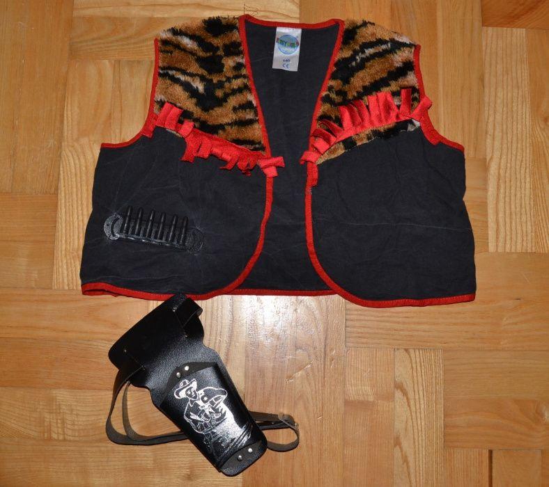 8# kostium kamizelka szeryf kowboy 9/10L_140 cm Łowicz - image 1