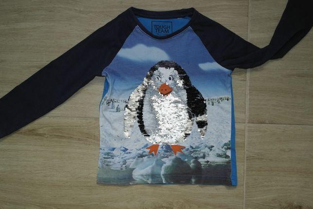 Bluzka pingwin cekiny dwustronne 104