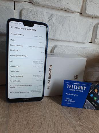 Huawei P20 lite 4ram/64pamieci. 3msc gwarancji. Telefon komórkowy