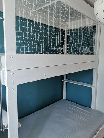 Łóżko piętrowe, robione na zamówienie.