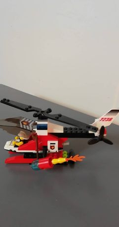7238, Śmigłowiec straży pożarnej, LEGO City helikopter