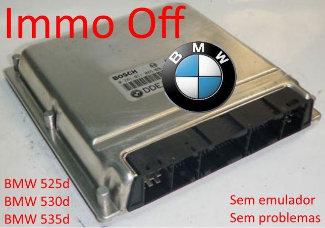 Centralina BMW 530d sem imobilizador - IMMO OFF