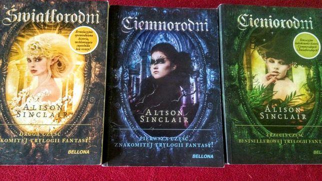 Alison Sinclair trylogia fantasy Ciemnorodni