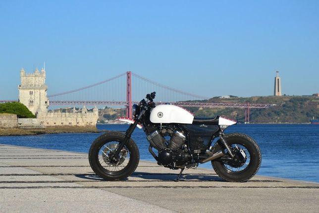 Yamaha virago xv535 cafe racer
