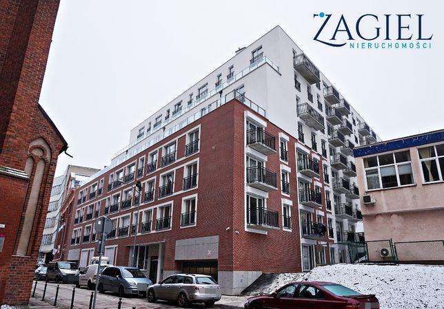 Na sprzedaż 2 pokoje z garażem w centrum Szczecina - nowe