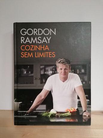 """Livro """"Cozinhar sem limites """" de Gordon Ramsay"""