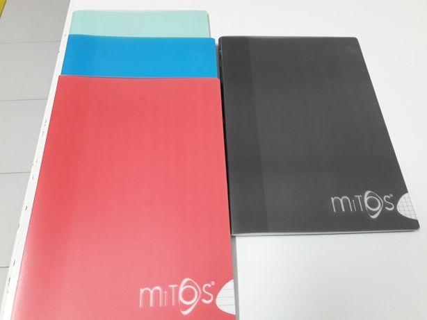 Cadernos escolares Mitos 80 fls