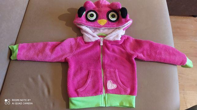 Bluza dla dziewczynki sowa miś 3 - 4 lata
