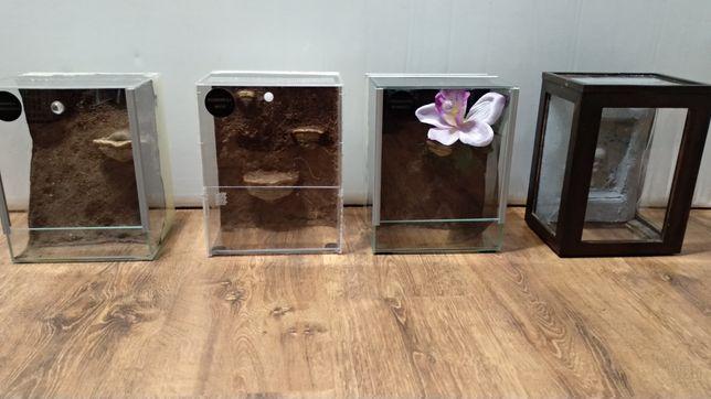 Terraria szklane/pleksowe