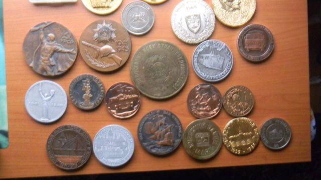 сувенирные медали из СССР...Олимпиада 80